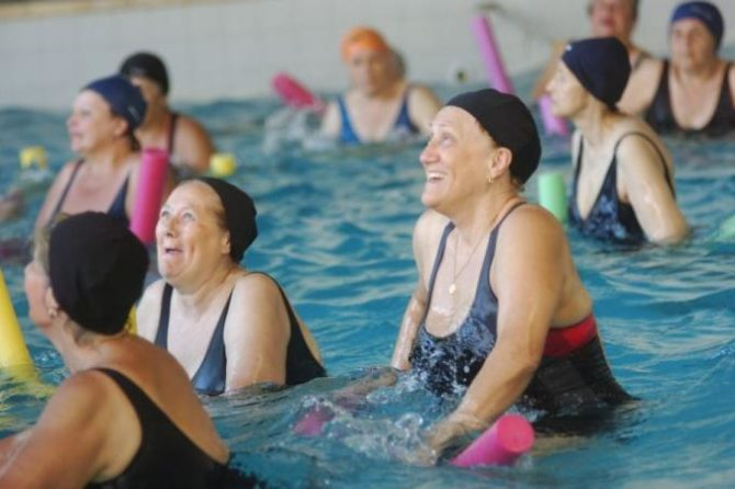 Swimming in The Third Age