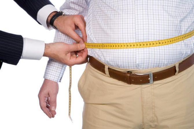 Riesgo de obesidad en el adulto mayor