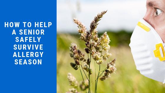How to Help a Senior Safely Survive Allergy Season