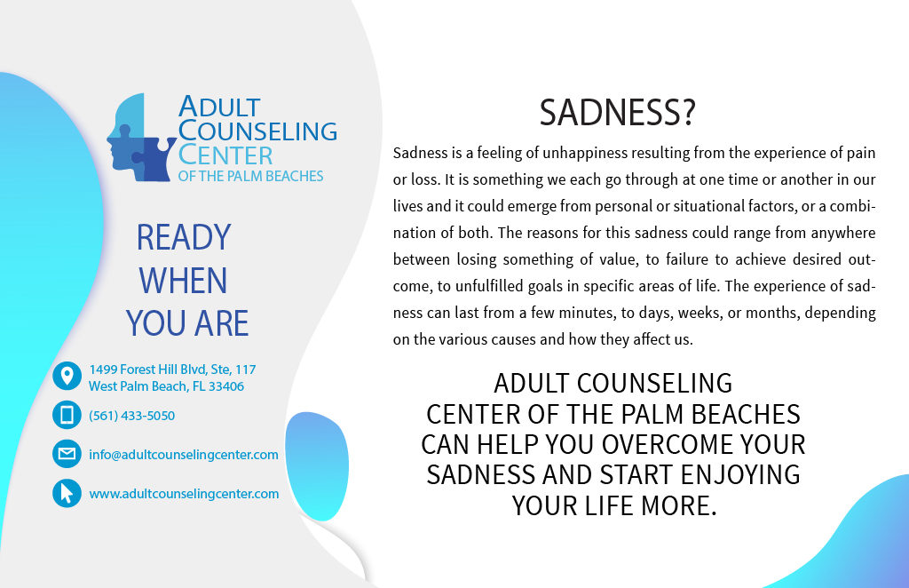 Sadness? We can help you!