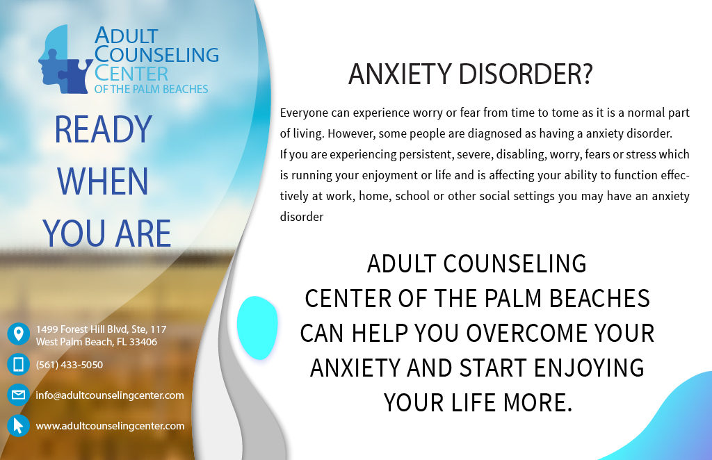 Anxiety disorders Treatment